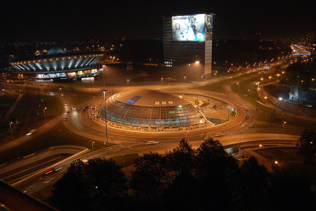 Rondo gen. Jerzego Ziętka w Katowicach nocą English: Jerzy Ziętek Roundabout by night Date	7 October 2007 (upload date) Source	Own work Author	Halaston Wiki GNU